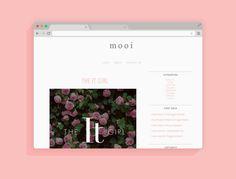 Mooi: Freebie: Blogger Template 2