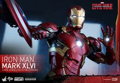 Marvel Iron Man Mark XLVI Sixth Scale Figure by Hot Toys | Sideshow Collectibles