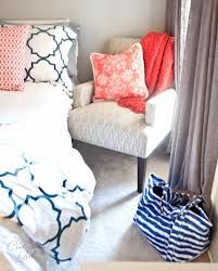 coral and grey bedroom ideas - Google Search