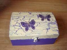 Resultado de imagen para decoracion en cajas de madera