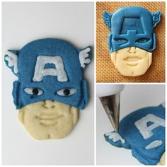 Captain America cook
