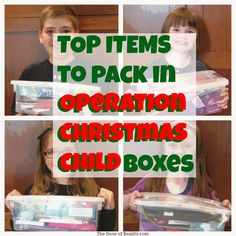 Join us in packing Operation Christmas Child boxes! It's so easy to help a child! http://www.thedoseofreality.com/2014/11/17/operation-christmas-child/