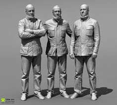 http://www.zbrushcentral.com/showthread.php?173890-Reference-Character-Models/page2
