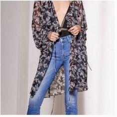 Victoria Secret Dark Blue Strappy Cut Out Corset Lace Sheer 36C 36D NWT $78
