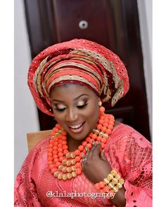 Nigerian Traditional Bride  : Klala Photography   http://loveweddingsng.com/