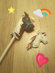 felt horses