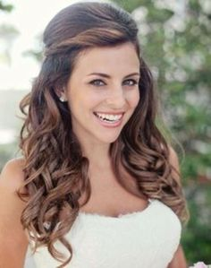 Easy Long Wedding Hairstyles
