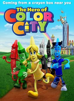 The Hero of Color City (2014) Hindi Dubbed [BRRip]