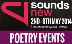 Image gallery: photos from Sounds New Poetry events, part of Sounds New Poetry, Events, News, Gallery, Photos, Image, Pictures, Poetry Books, Poem