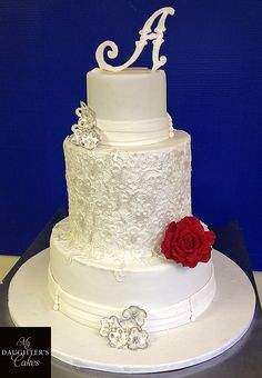 www.mydaughterscakes.com #weddingcakes