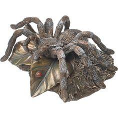 Tarantula Sculpture  Price:$39.95...OH MY GOSH! I'm so getting this!