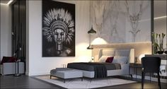 Как использовать произведения искусства для создания соответствующей атмосферы в вашем доме + (Видео)