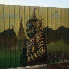 #StreetArt  #Graffiti #Art #TravelArt #Thailand #Bangkok #asianadventure #TravelLife #street_art #ArtFun #ArtLove #Travelingtheworld #ArtJunkie