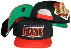 San Francisco Giants Black/Orange Two Tone Snapback Adjustable Plastic Snap Back Hat / Cap by American Needle. $14.30. One Size Fits All. Embroidered team graphics. Make a fashion statement while wearing this retro snapback cap.