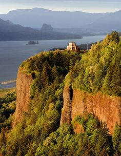 Columbia Gorge. The drive to hood river from Portland Oregon is amazing!!! Take the scenic route :)