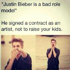 Yup! And btw he is a great role model