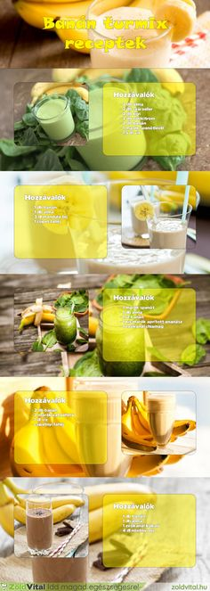 Banán turmix receptek #turmix #recept Healthy Juices, Healthy Smoothies, Smoothie Recipes, Paleo Mom, Paleo Diet, Hormone Diet, Mind Diet, Keto Recipes, Healthy Recipes