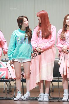 PRISTIN ♡ ReNa 레나 (Kang YeBin 강예빈) & RoA 로아 (Kim MinKyung 김민경) #민빈커플