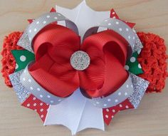 Clothing, Shoes & Accessories Gentle Minnie Mouse Hair Bow Pigtails Qty 2 On Claw Clip