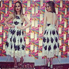 Vestido maravilhoooooooso da Skazi, by Queen 21  #moda #new #luxo #skazi #sóastop #skazimoda #sobmedida #desfile #dress #queens #queen21 #queen21loja @skazioficial