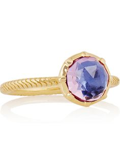 LARKSPUR & HAWK Bella gold amethyst ring