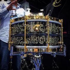 Wow. #drums #drum #jouful #namm #drumporn #drummer #drumming #engraved #handmade #usa