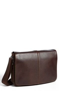 Boconi 'Tyler' Slim Leather Laptop Briefcase available at #Nordstrom