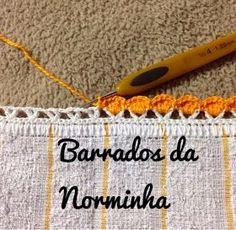 OFICINA DO BARRADO: Barradinho gracioso para Panos de Copa ...