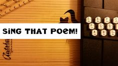It's the 2015  National Poetry Month Project at The Poem Farm! Sing That Poem!  All children, teachers, parents, families, poetry friends are welcome to come and sing along - a new tune each day...can you figure it out?  Happy Poetry Month!  xo, a.