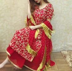 Leranath_fashion Book ur dress now Completely stitched Customised in all colours For booking ur dress plz dm or whatsapp at 9574860756 Kurta Designs, Patiala Suit Designs, Kurti Designs Party Wear, Dress Designs, Pakistani Dress Design, Pakistani Dresses, Indian Dresses, Indian Outfits, Pakistani Mehndi Dress