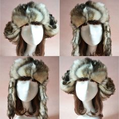 Oversized Real Big Raccoon Fur Earmuffs Lovely Personality Plush Fur Ear Cover Warm Girls Earflap Winter Profit Small Apparel Accessories Men's Accessories