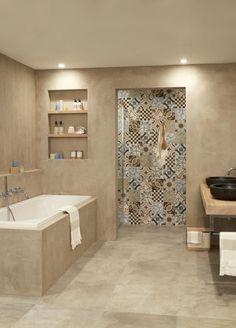 Bildergebnis für badkamer indeling My House Plans, Small House Plans, Dream Bathrooms, Beautiful Bathrooms, Bathroom Design Layout, Modern House Design, Cozy House, Home Living Room, Home Renovation