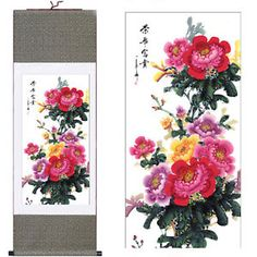 b646841f9 38 Best scroll painting chinese images in 2018 | Living room decor ...