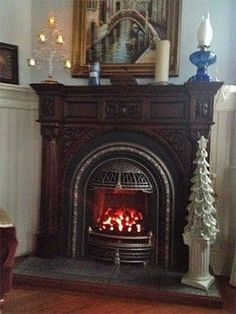 Victorian Fireplace Design Ideas, Pictures, Remodel, and Decor - page 4