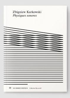 garadinervi:  Notter + VigneZbigniew Karkowki, Physiques sonores Graphic Design Books, Graphic Design Inspiration, Typography Layout, Graphic Design Typography, Book Cover Design, Book Design, Cool Books, Information Graphics, Op Art