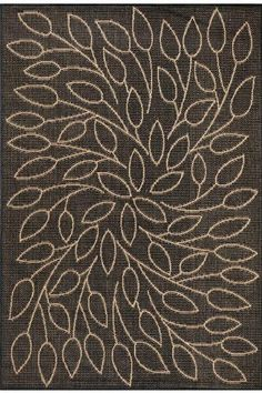"""Amazon.com : Persimmon Area Outdoor Area Rug, 7'6"""" SQUARE, GREEN NATURAL : Doormats : Everything Else"""
