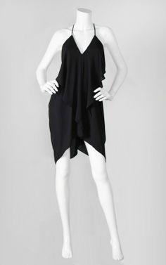 Black Dress with Spaghetti string straps