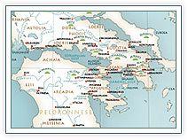 greek mythology maps for Heroes year 3