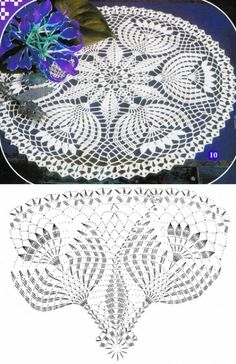 Captivating Crochet a Bodycon Dress Top Ideas. Dazzling Crochet a Bodycon Dress Top Ideas. Free Crochet Doily Patterns, Crochet Tablecloth Pattern, Crochet Doily Diagram, Crochet Motifs, Crochet Art, Thread Crochet, Easy Crochet, Crochet Dollies, Crochet Flowers