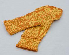 Ravelry: Helianthus Mittenus pattern by Pamela Schwab