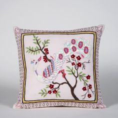 Peacock Cushion Cotton Fabric in just