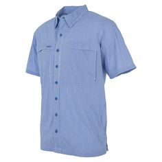 Pacific Blue MicroCheck Shirt from GameGuard Outdoors