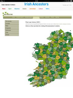 Irish Poor Law Unions