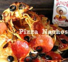 ~Pizza Nachos! my husband would love these
