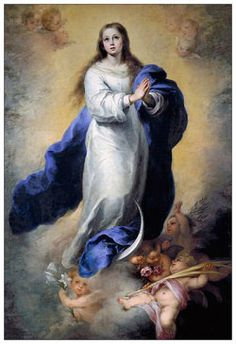 Murillo's Best Immaculate Conception Painting