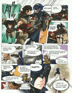 Fire Emblem: Awakening comic. Ha ha! I absolutely loved this! Poor Lon'qu, so that's how he was defeated.