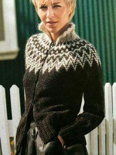 . Norwegian Knitting Designs, Sweater Knitting Patterns, Knit Fashion, Norway, Men Sweater, Vest, Turtle Neck, Villa, Sweaters