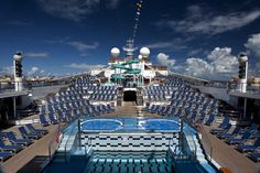 Pool and lido deck