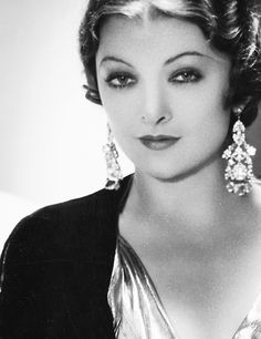 Myrna Loy (George Hurrell portrait)
