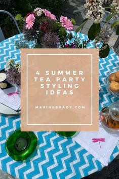 How to style the perfect summer tea party to enjoy with family & friends by interior stylist Maxine Brady Interior Design Advice, Interior Stylist, Ahmad Tea, Outdoor Garden Rooms, Perfect Cup Of Tea, Best Tea, Love Home, Small Gardens, Summer Garden